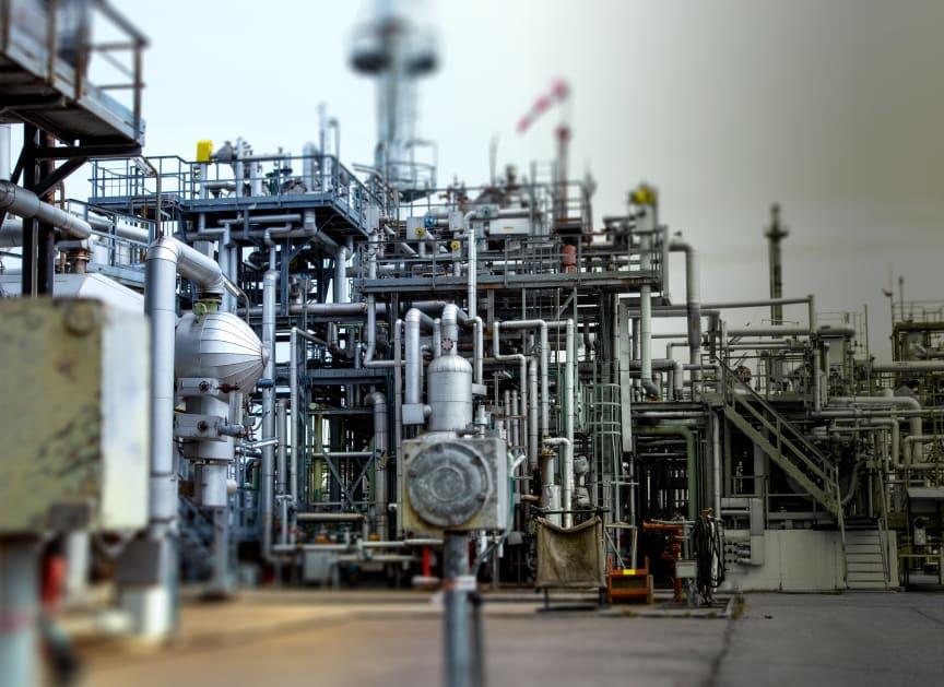 Raffineri, industri