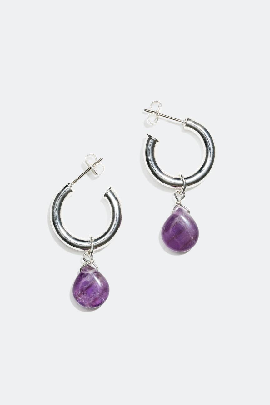 Earrings with semi precious stones - 149 kr
