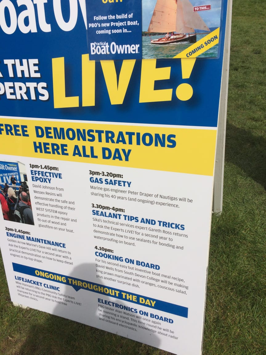 High res image - Sika Limited - PBO's Ask the Experts Live Demo Board