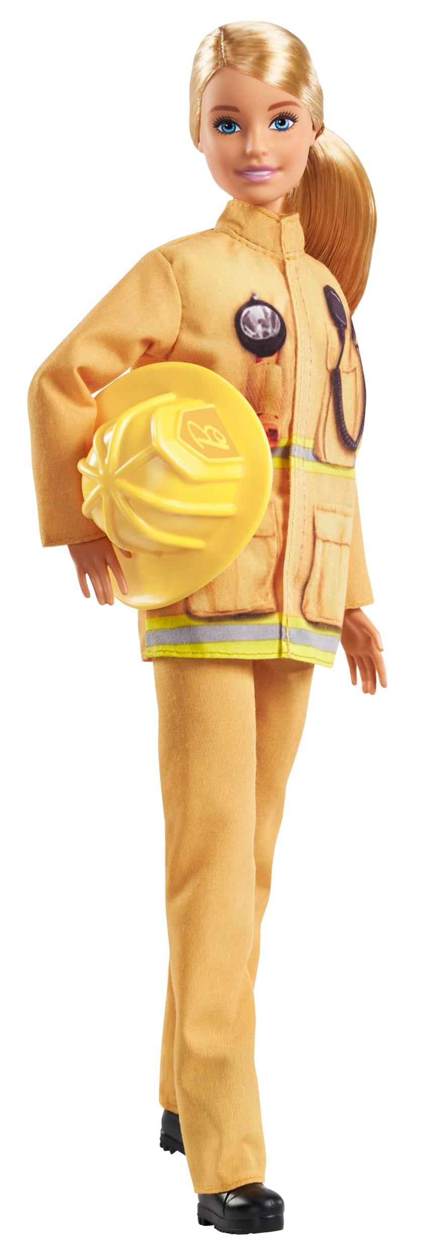 Barbie 60. Jubiläum karriere-Puppe Feuerwehrfrau