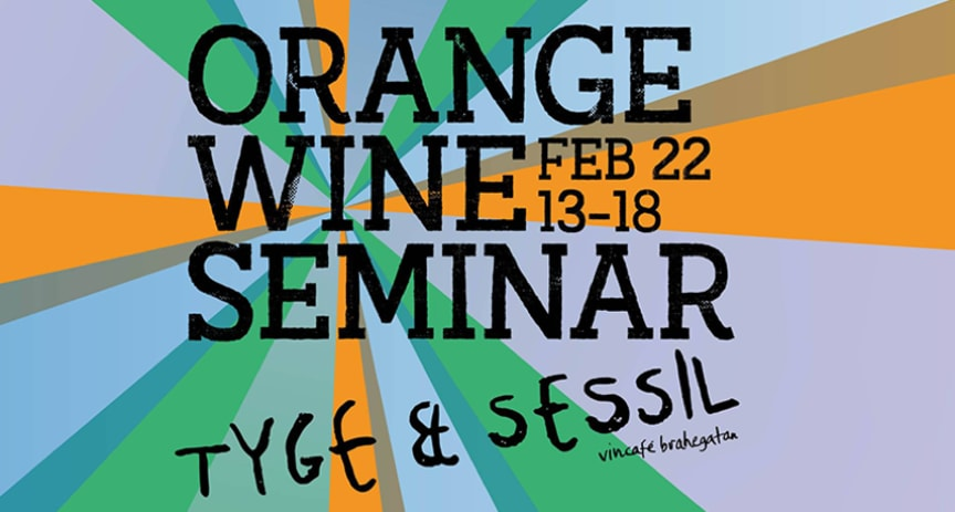 Orange Wine Seminar - Tyge & Sessil