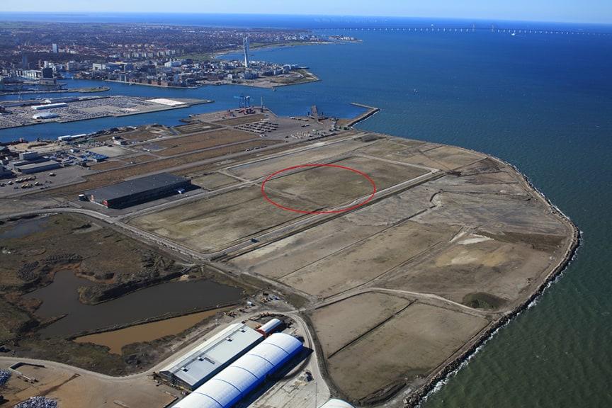 Här köper MG Real Estate mark i Norra Hamnen i Malmö.