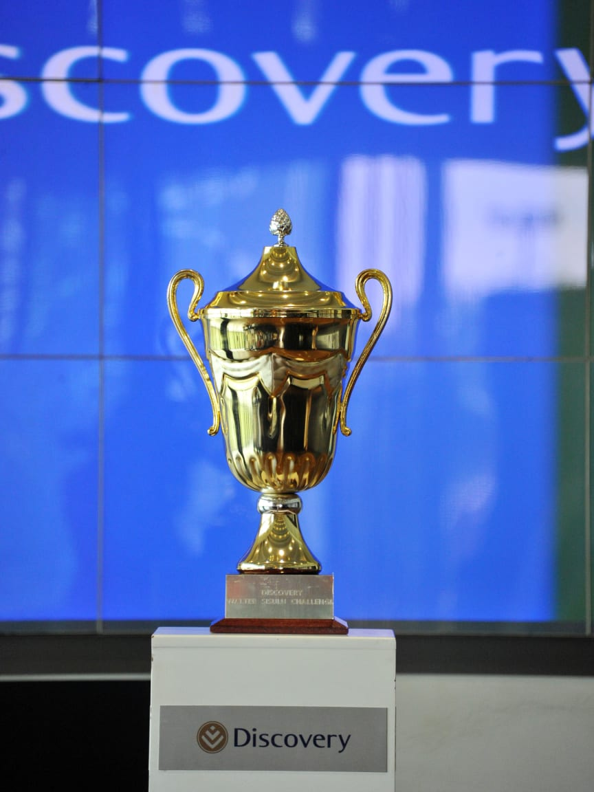 Discovery Walter Sisulu Soccer Challenge Trophy
