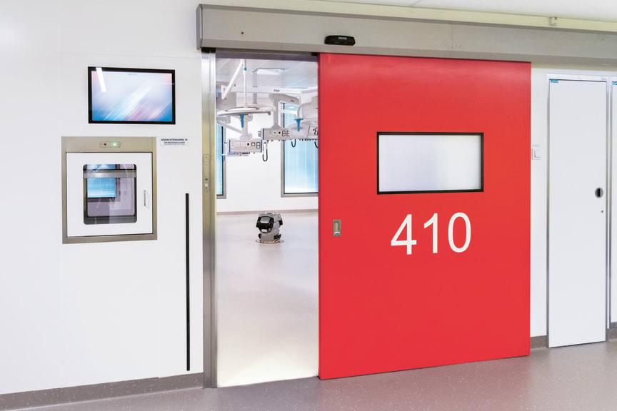Operationssalar i nya behandlingsbyggnaden