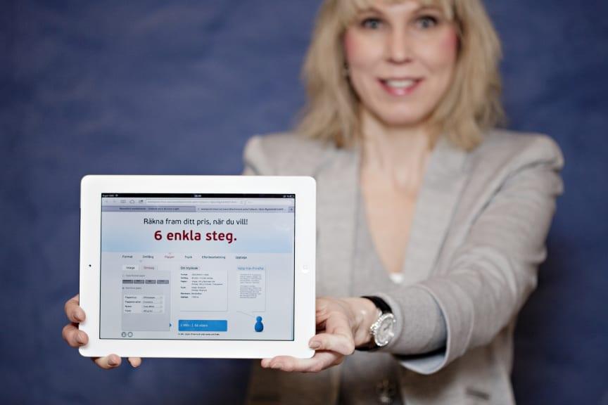 Eva Rosén, marknadschef arifiQ Development som är ett av tre företag som deltar i Microsofts program BizSpark.