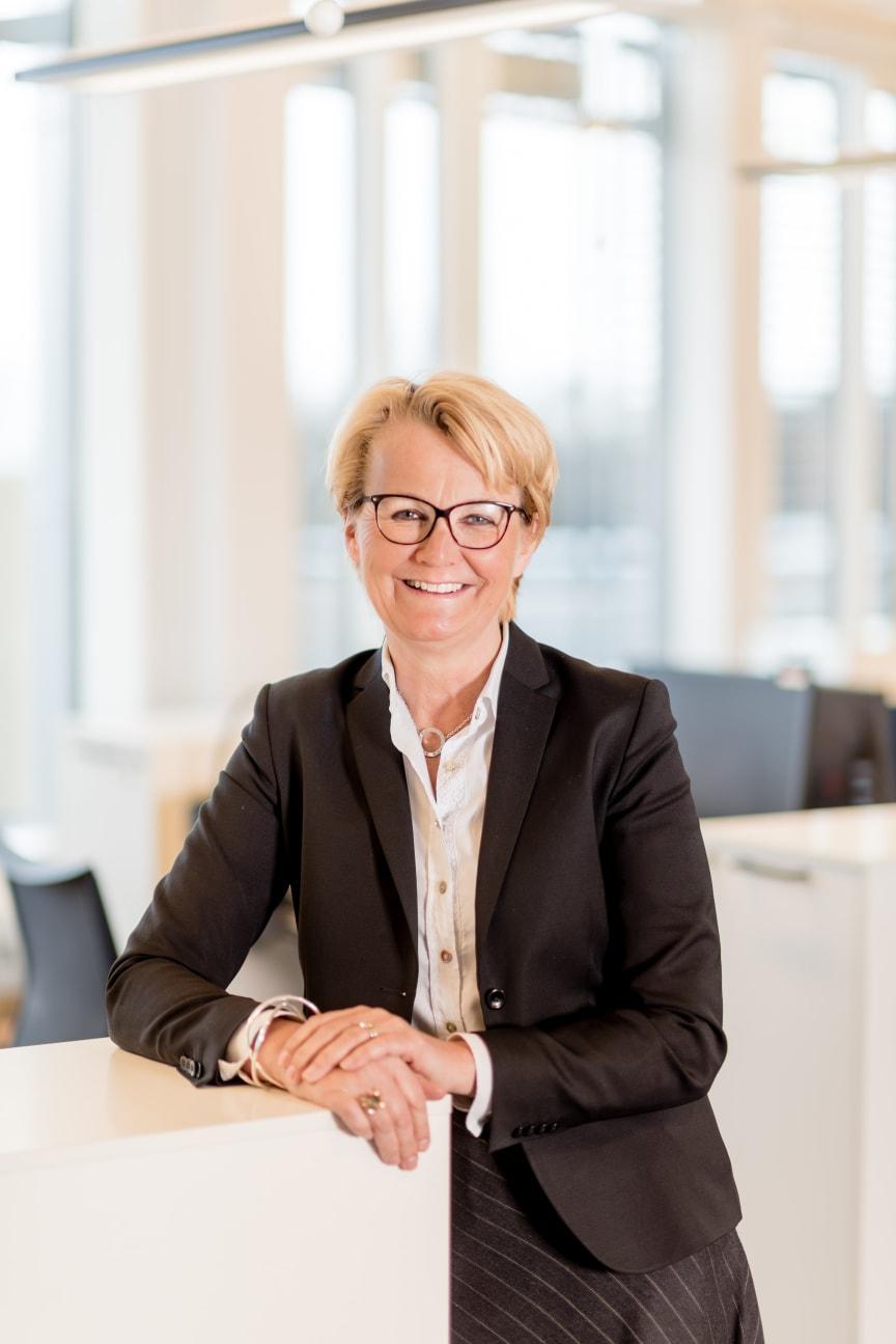 Anette  Willumsen, administrerende direktør i Lindorff i Norge - foto Terje Borum