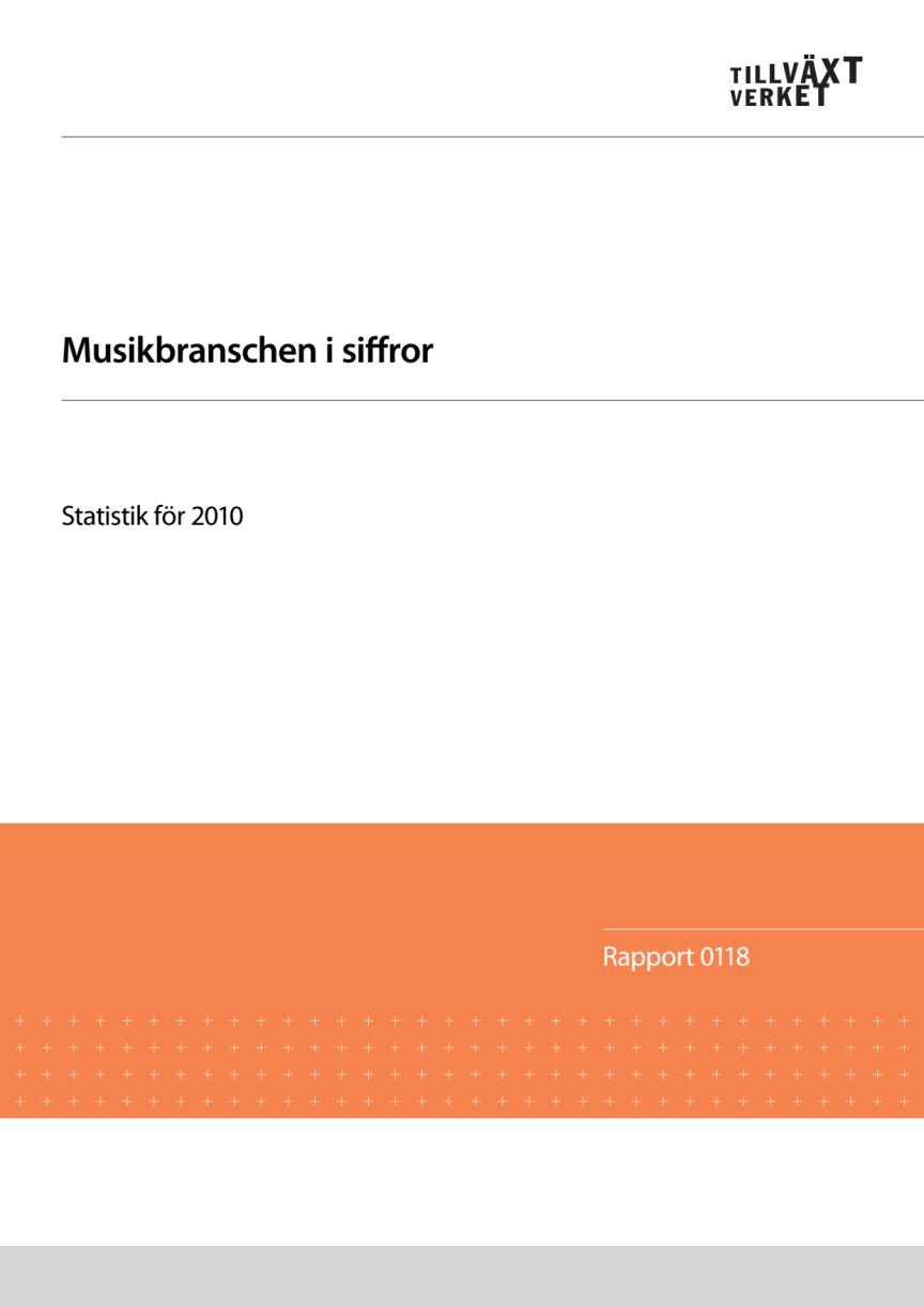 Musik omsätter miljarder i Sverige