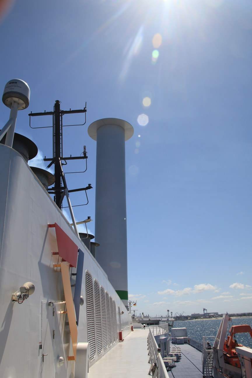 Rotor sail Scandlines logo