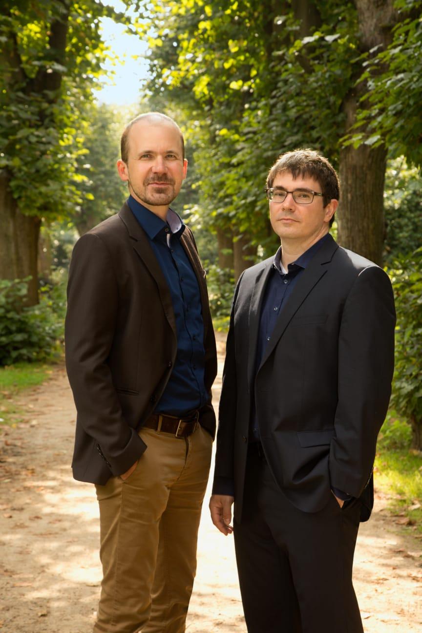 Författarfoto, Rüdiger Barth och Hauke Friederichs