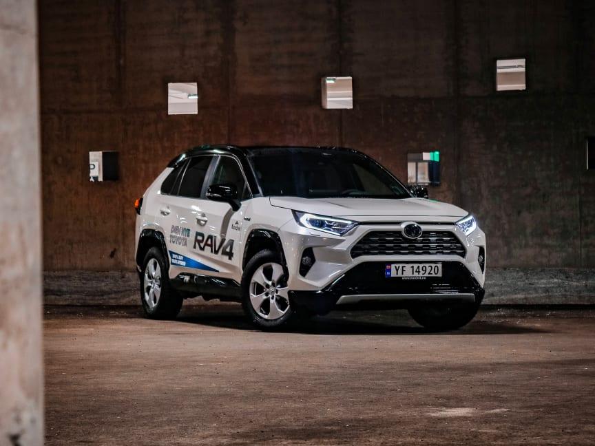 Nok et rekordår for Toyotas hybridbiler
