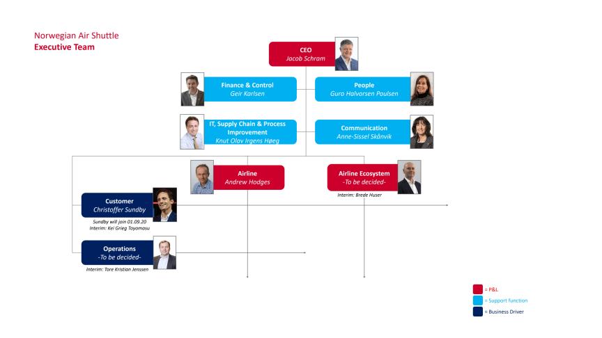 New Norwegian Executive Team PDF