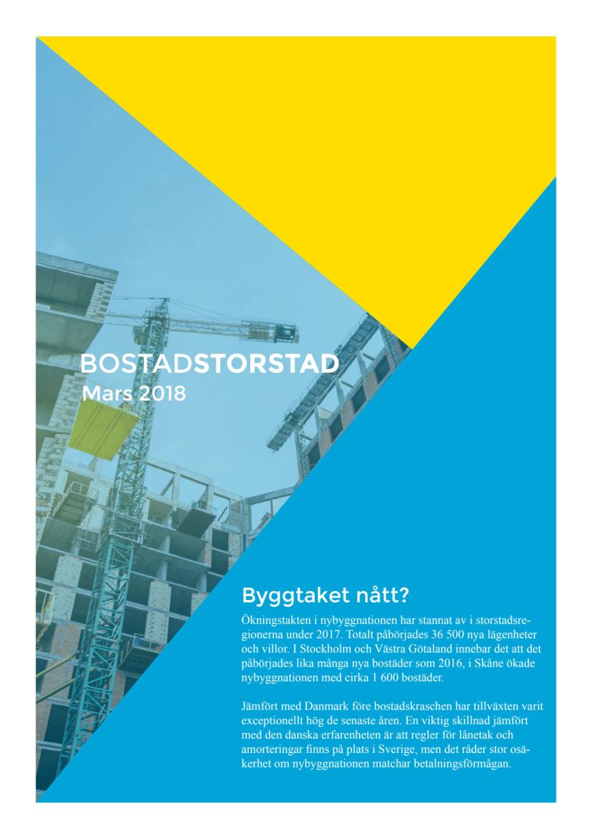 BostadStorstad - Mars 2018