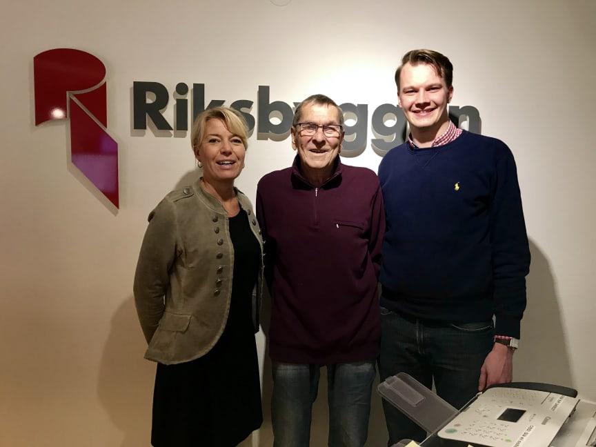 FrFr v: Anna-Karin Norrman, Lars-Göran Larsson och Daniel Sartiala.