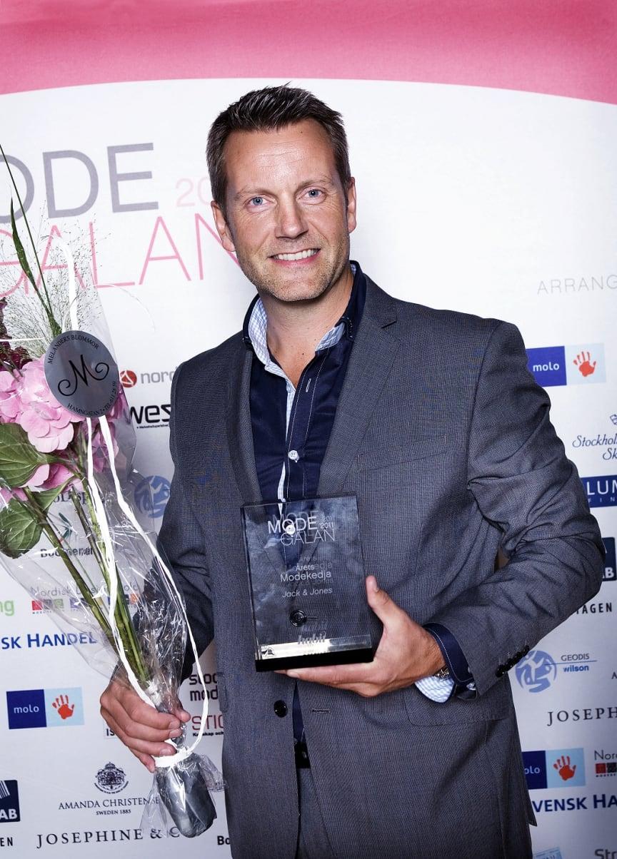 Vinnare Årets Modekedja, Modegalan 2011