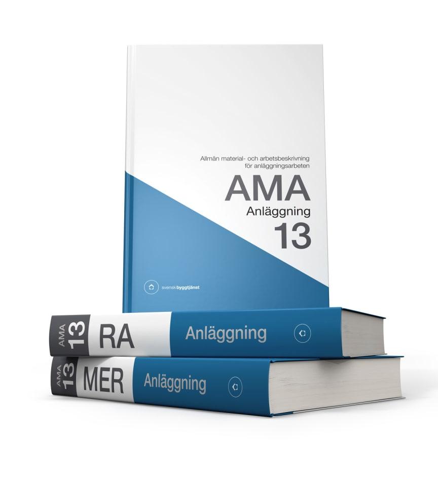 AMA Anläggning 13, RA Anläggning 13 samt MER Anläggning 13