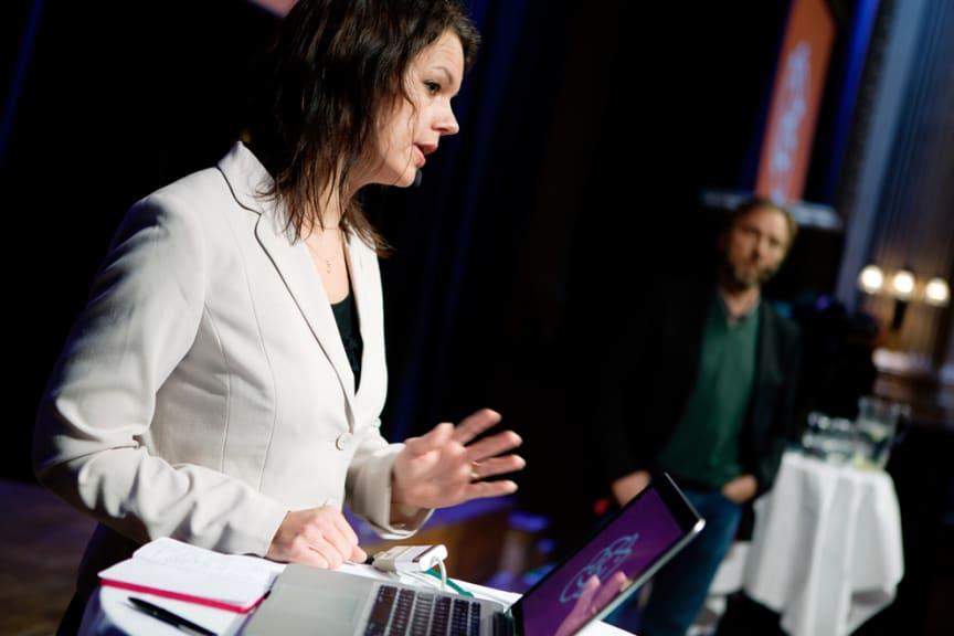 Veronica Palm, socialdemokraternas bostadspolitiska talesperson