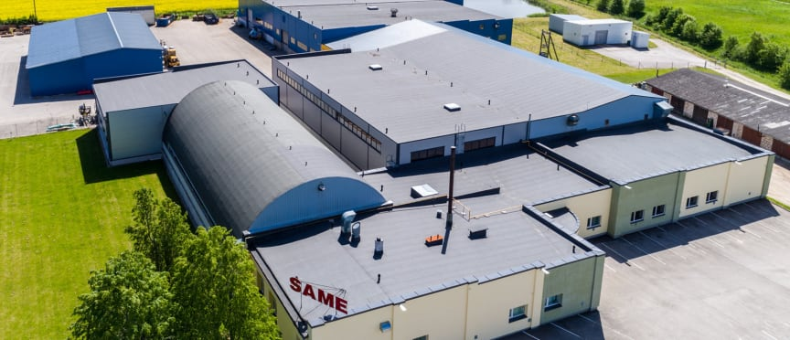 Produktionsanläggningen SAME i Estland