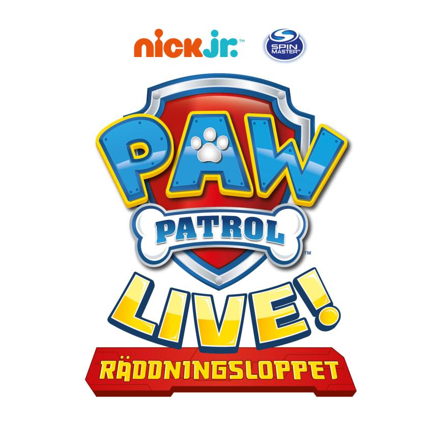 "PAW Patrol Live! - ""Räddningsloppet"""