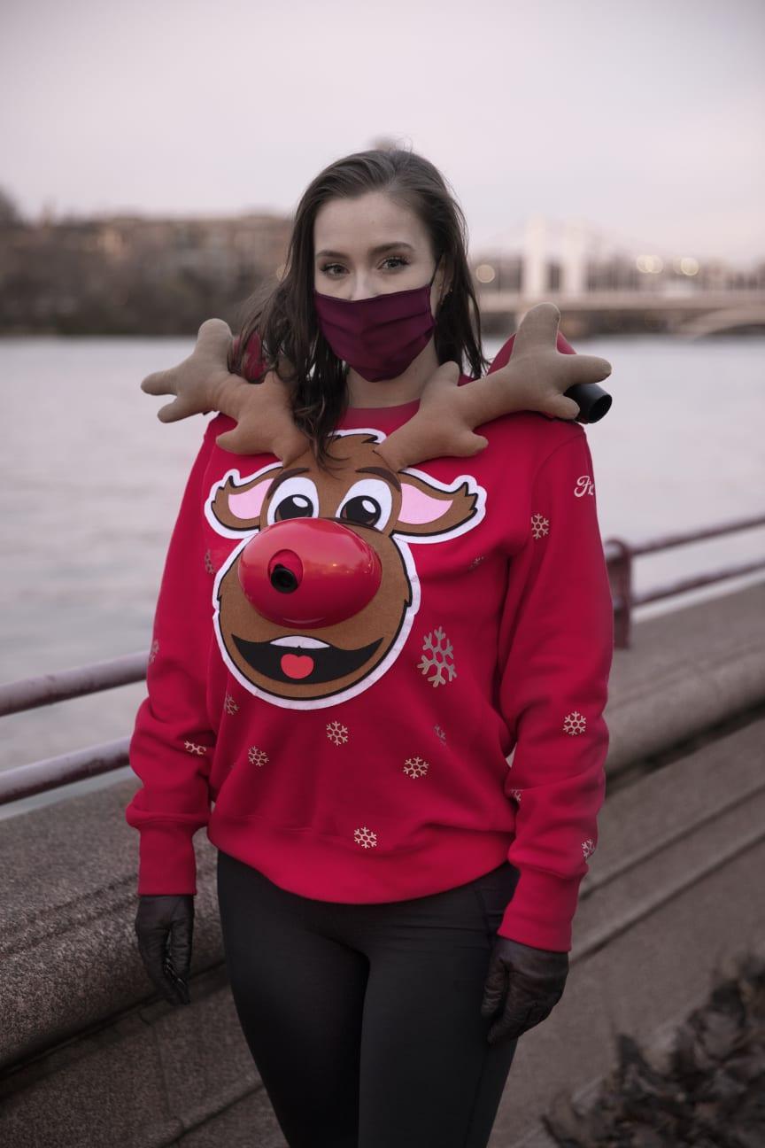 Fords coronavenlige julesweater