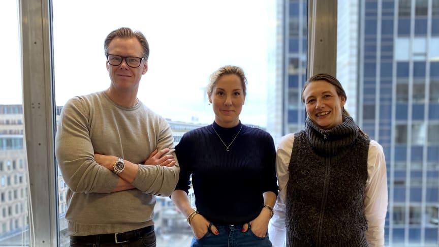 Magnus Stein, Charlotte Ljung och Linda Ljunggren Syding