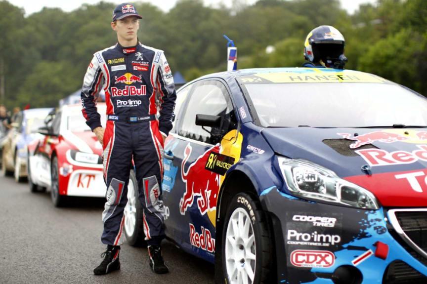 Team Peugeot-Hansen Timmy Hansen