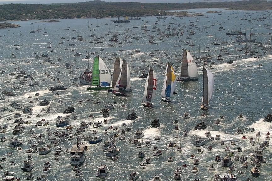 Egnahemsbolaget är med när Volvo Ocean Race går i mål