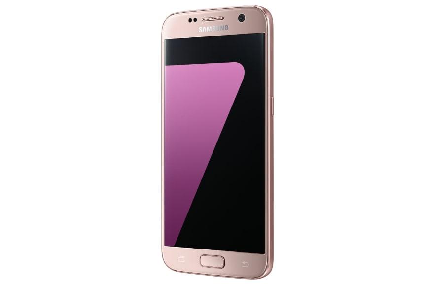 Galaxy S7 Pink Gold