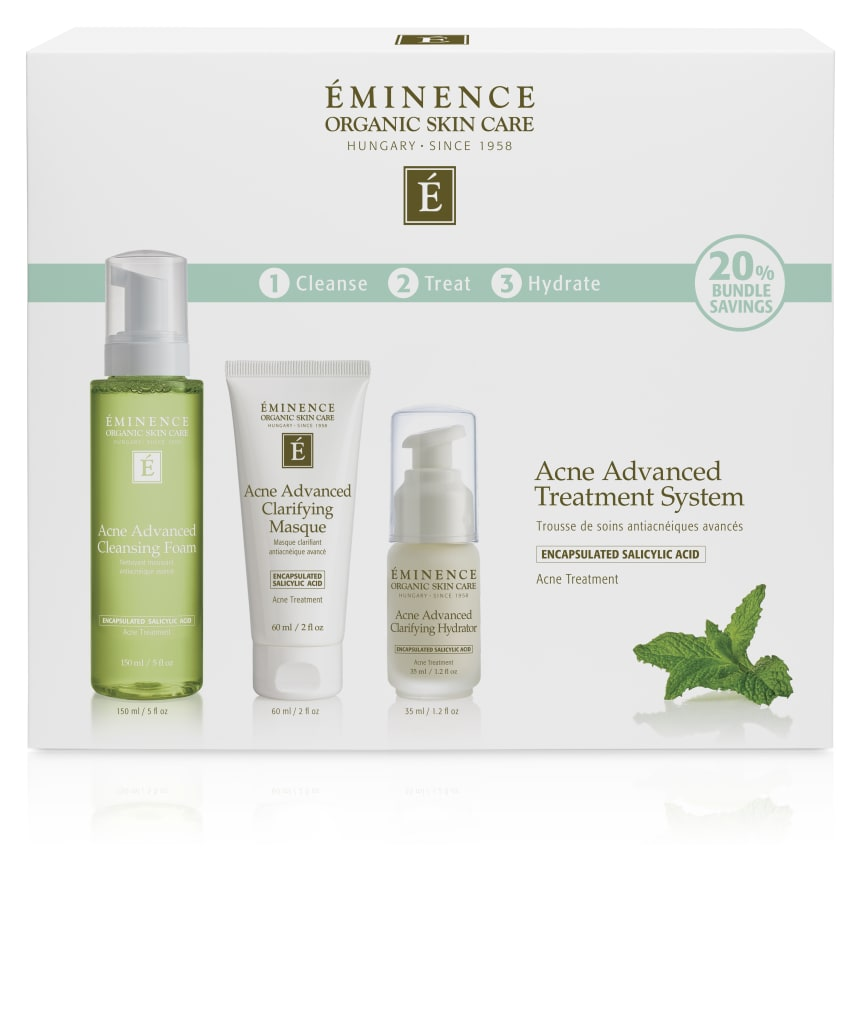 Acne Advanced Treatment System Box