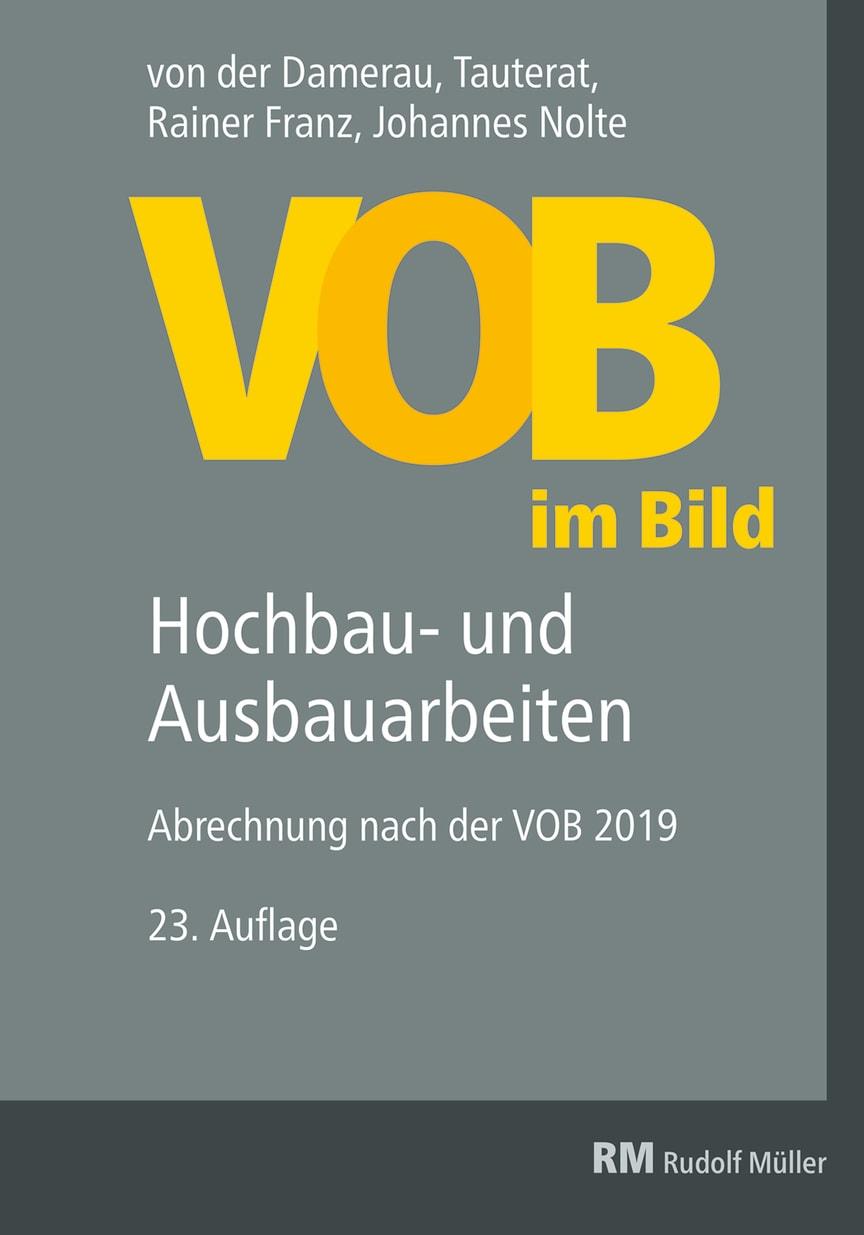 VOB im Bild – Hochbau- und Ausbauarbeiten, 23. Auflage (2D/tif)