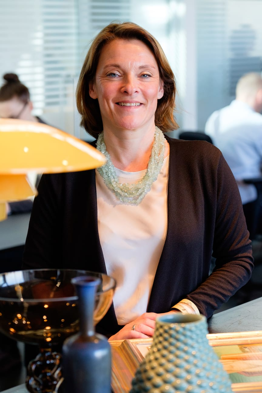Anna Sievert, Bruun Rasmussens nya representant i Sverige.