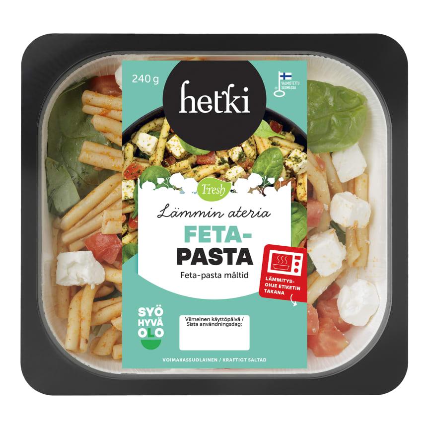 Fresh lamminhetki feta-pasta