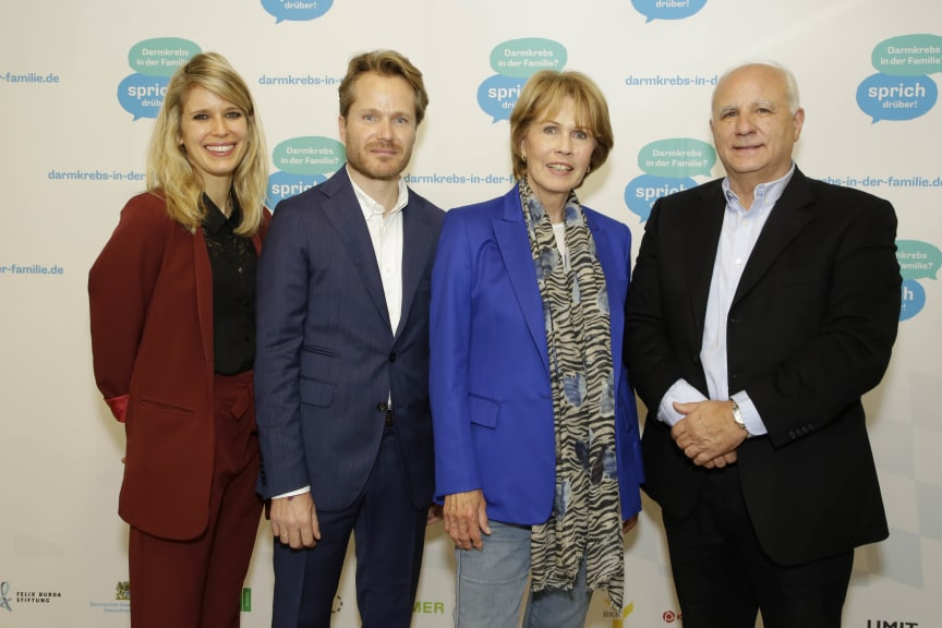 FARKOR: Patrizia Ungar (KVB), Fabian Demmelhuber (KVB), Christa Maar (Felix Burda Stiftung), Dr. Pedro Schmelz (KVB)