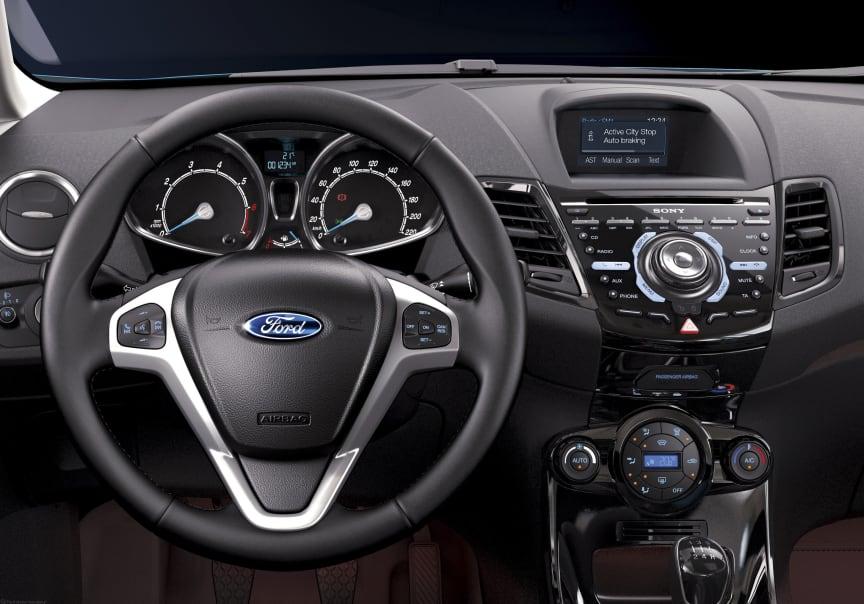 Ford introducerar Active City Stop i nya Ford Fiesta - bild 2