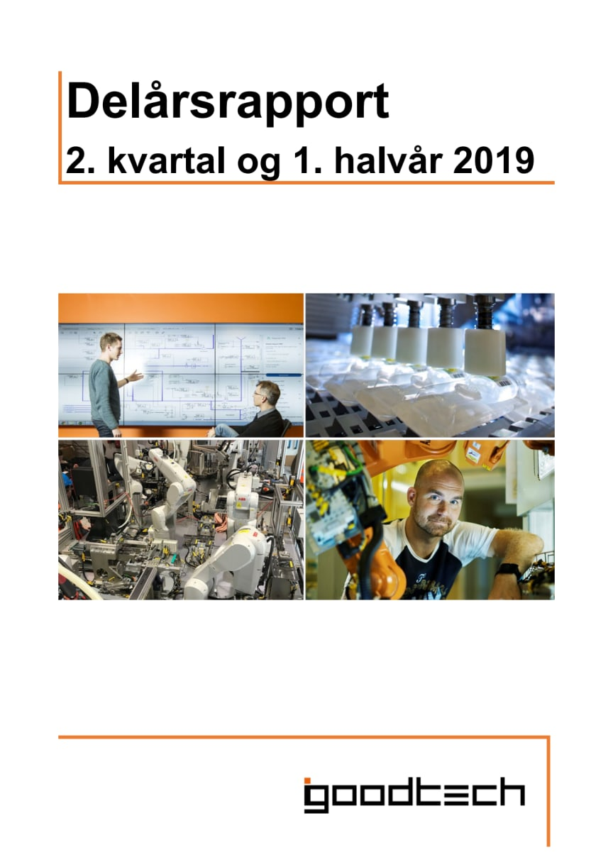 Kvartalsrapport Q2 2019