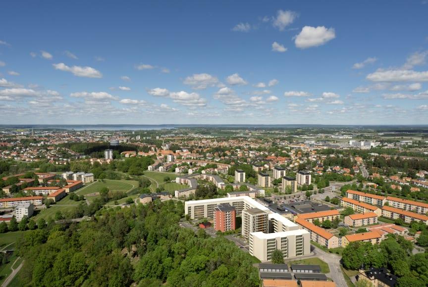 Översikt Berga Park, Linköping, Riksbyggen