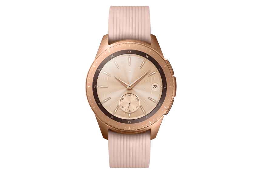 Galaxy Watch_Front_Rose-Gold
