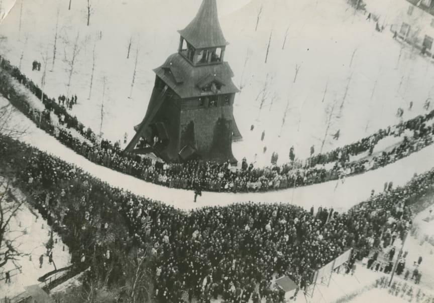 Upploppet Vasaloppet 1945