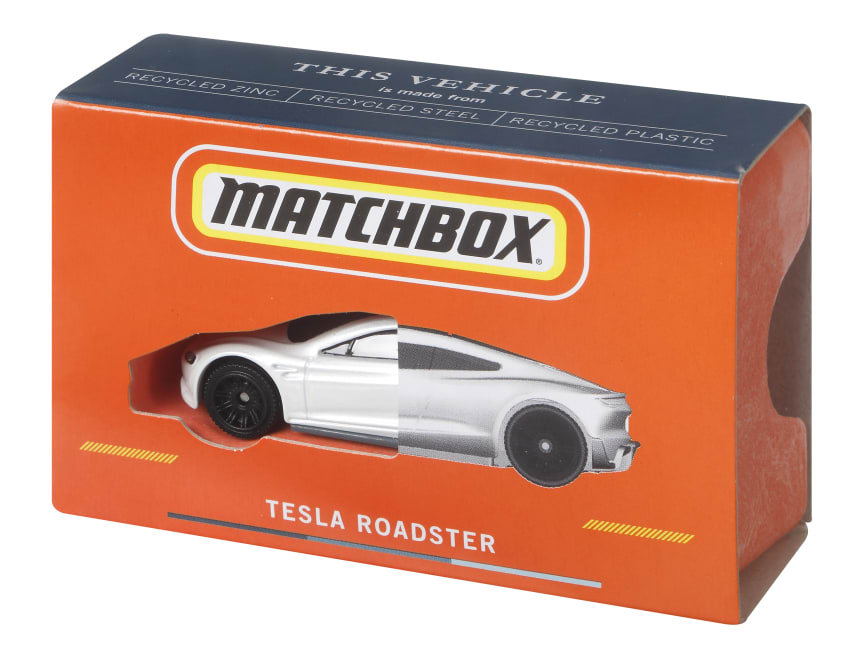 Matchbox Telsa Roadster 99� Recycled_07.jpg