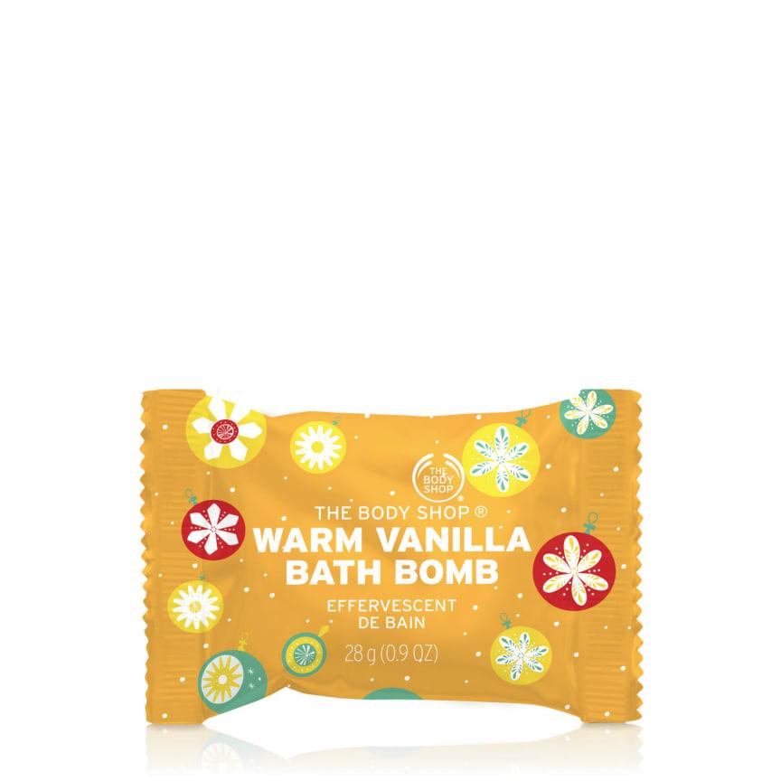Warm Vanilla Bath Bomb