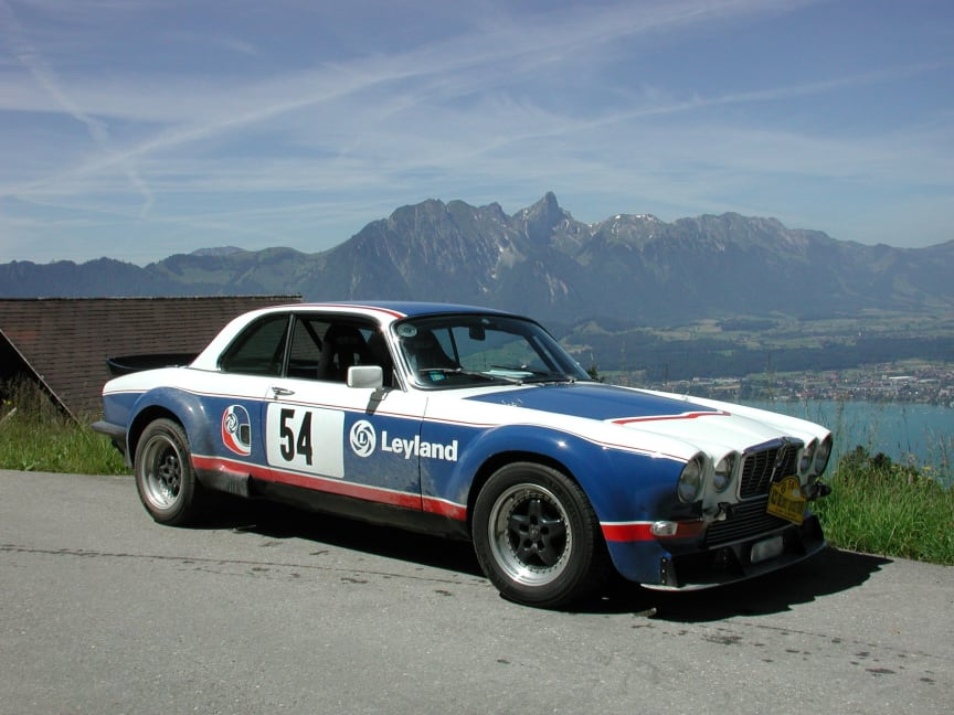 Jaguar XJC Broadspeed road car, Baujahr 1975