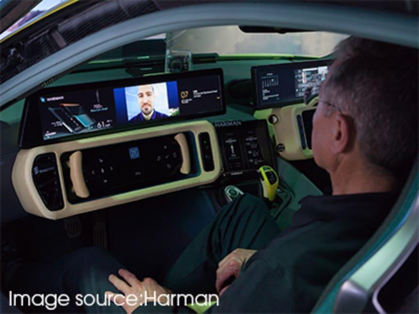 Driverless Car (Source: Harman)