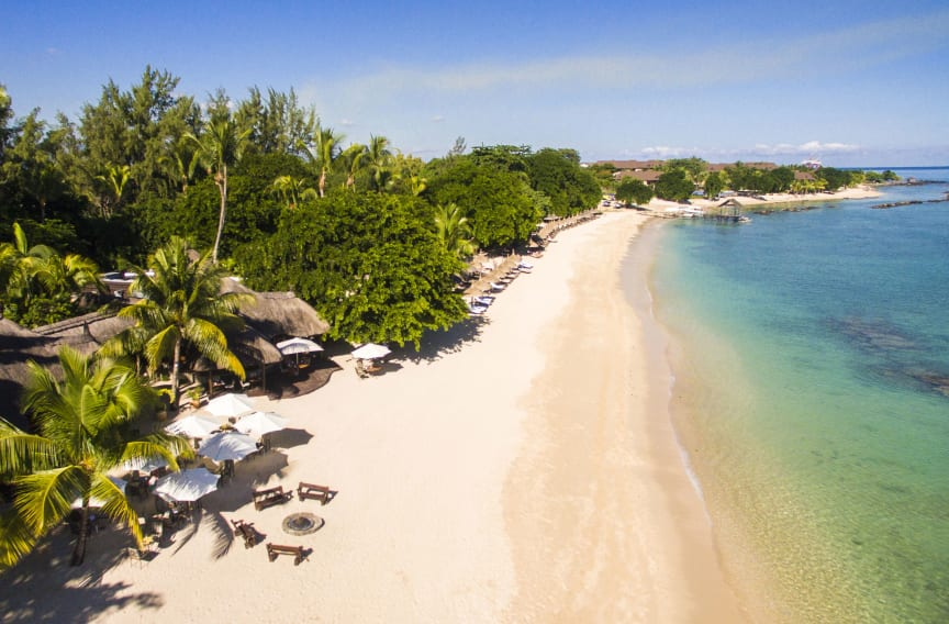 Idyllic holiday in paradise: Maritim Resort & Spa Mauritius