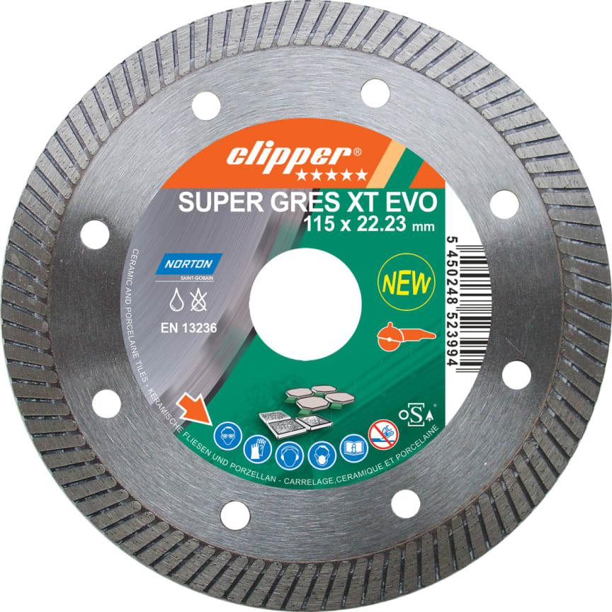 Diamantklinga Clipper Super Gres XT Evo – Produkt 2 (115 mm)