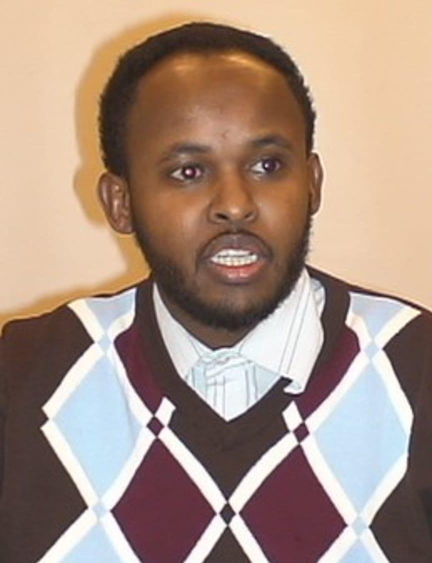 Abdibashir Hirsiguleded projektledare för Samordnat föräldrastöd i Järva