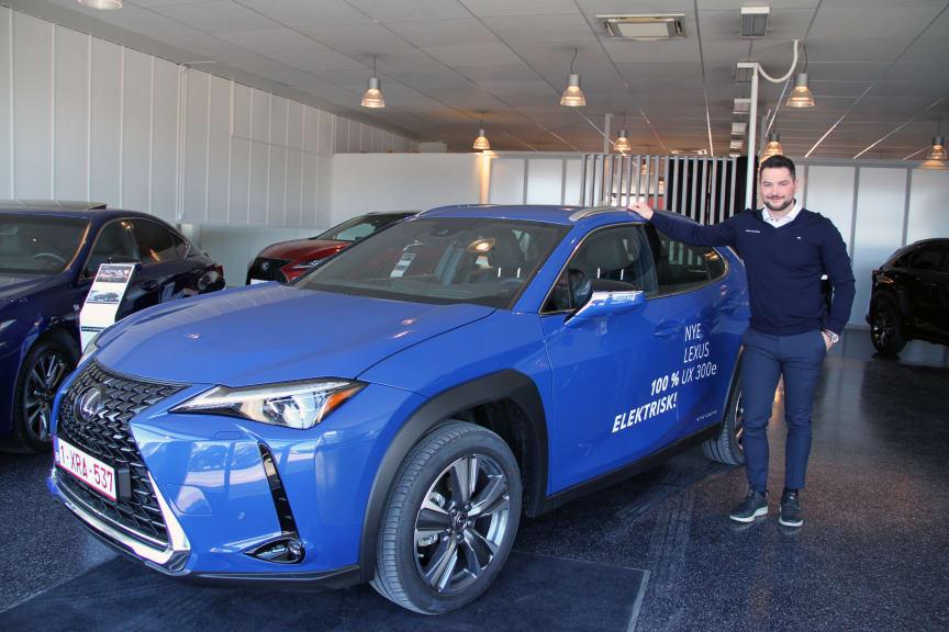 Lexus sin første elbil UX 300e er klar for veiene i Bodø