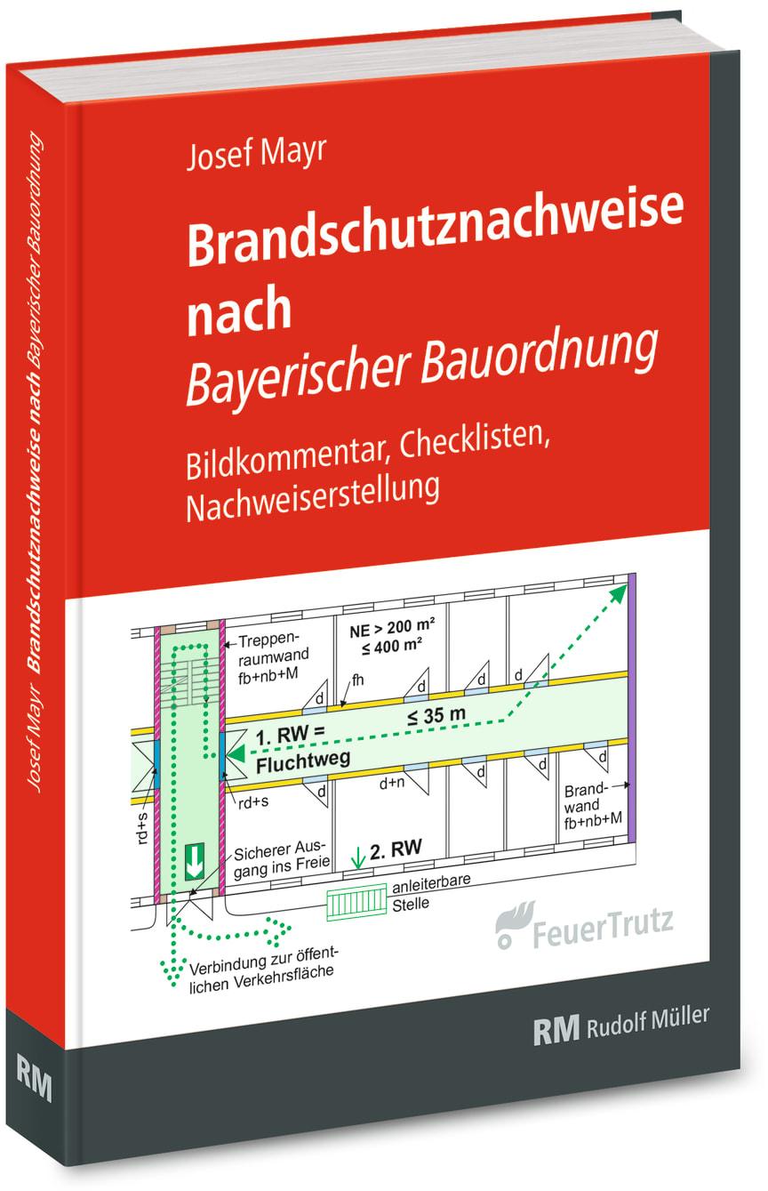 Brandschutznachweise nach Bayerischer Bauordnung (3D/tif)