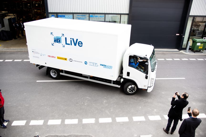 So nimmt der elektrische LKW-Transport  Fahrt auf