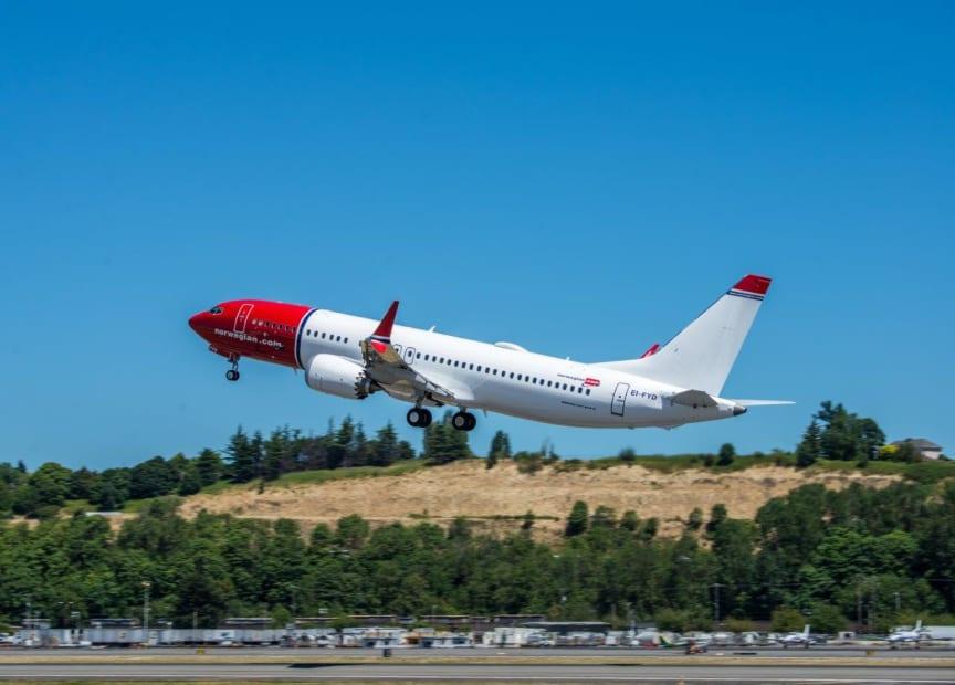 Norwegian lanserer ny rute fra Paris til Denver