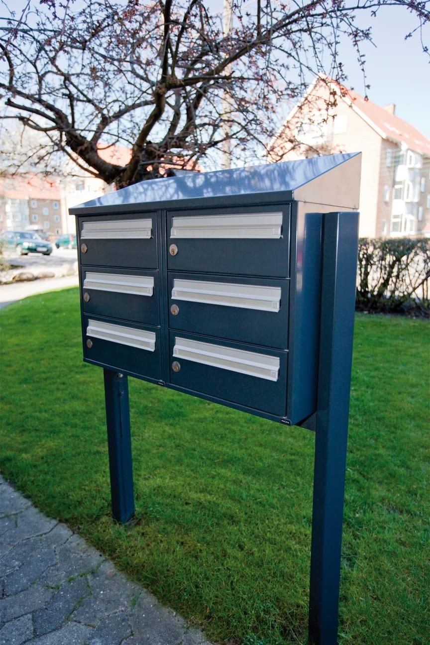 Renz Basic 701 postkasseanlæg