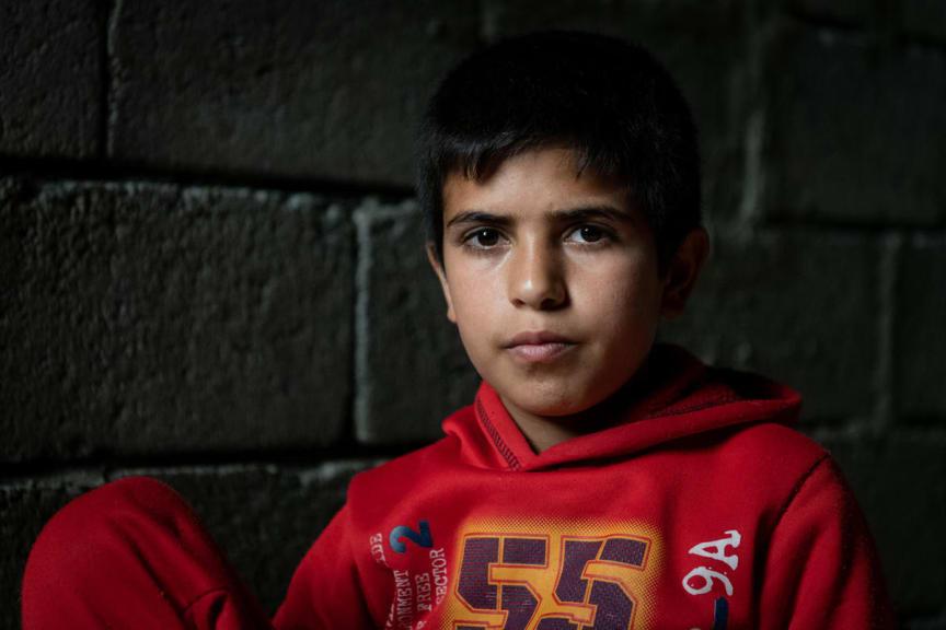 Mohammed*, 13 år i Irak